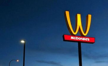 McDonalds celebrates women with flipped arches