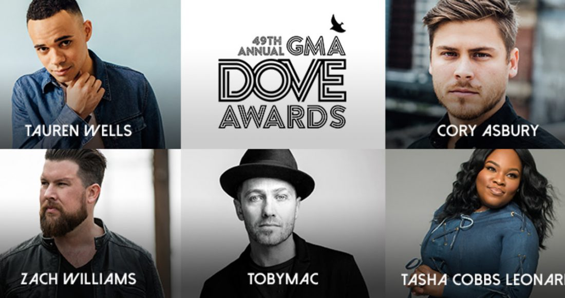 2018 GMA Dove Award nominees