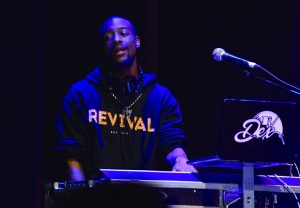 DJ at Revival Tour spins the hits at Revival Tour