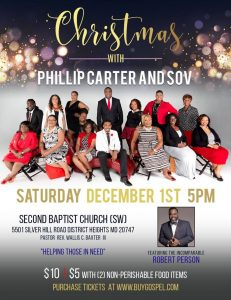 Christmas with Phillip Carter