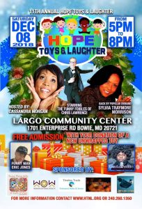 Hope and Laughter toy drive