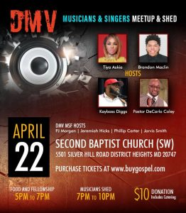 DMV Shed on Easter Monday