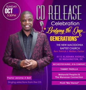 Jerome Bell CD release celebration