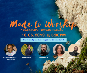 Made To Worship features several artists