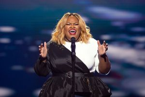 Tasha Cobbs on Sunday Best