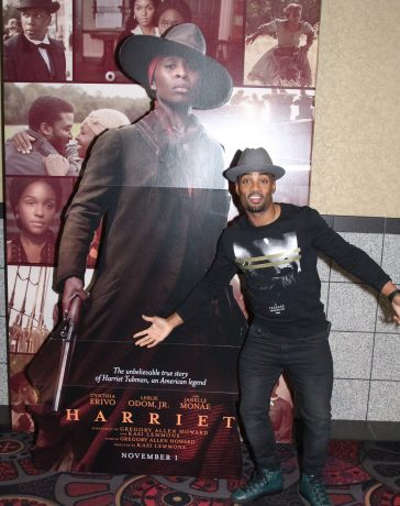 Willie Moore Jr. at Harriet screening