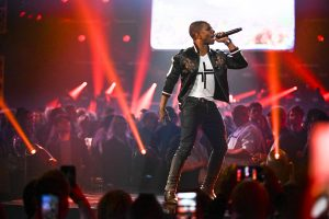 Kirk Franklin performs during 50th GMA Dove Awards