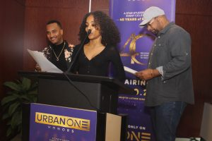 DJ Quicksilva, Lil Bacon Bear _ Radio Personality Russ Parr make announcements