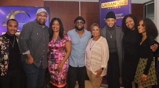 Cathy Hughes, Radio One execs and special guests