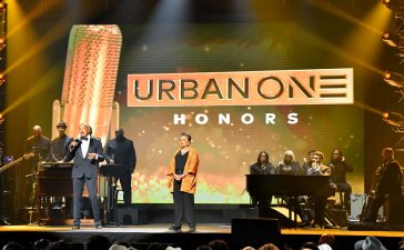 Cathy Hughes Alfred Liggins III at Urban One Honors