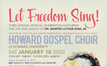Howard Gospel Choir Let Freedom Sing