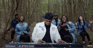 Anthony Brown & group therAPy video was shot in the woods