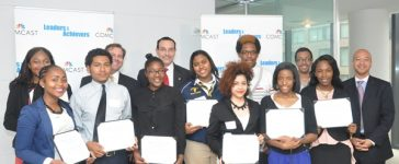 Students receive Comcast Scholarships
