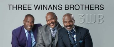 3WB Three Winans Brothers perform at Lincoln Memorial