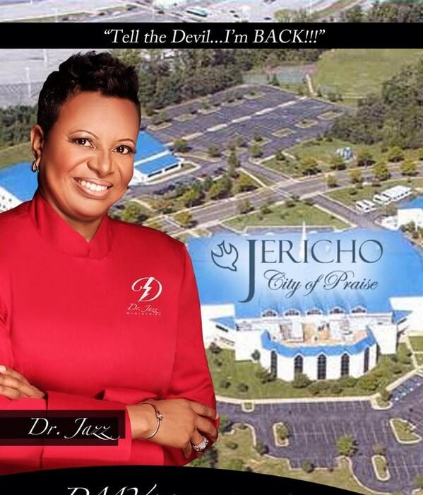Dr Jazz at Jericho City of Praise on Easter