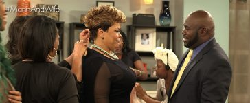 David and Tamela Mann star in Mann & Wife