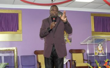 Pastor Jerome Bell gets great celebration