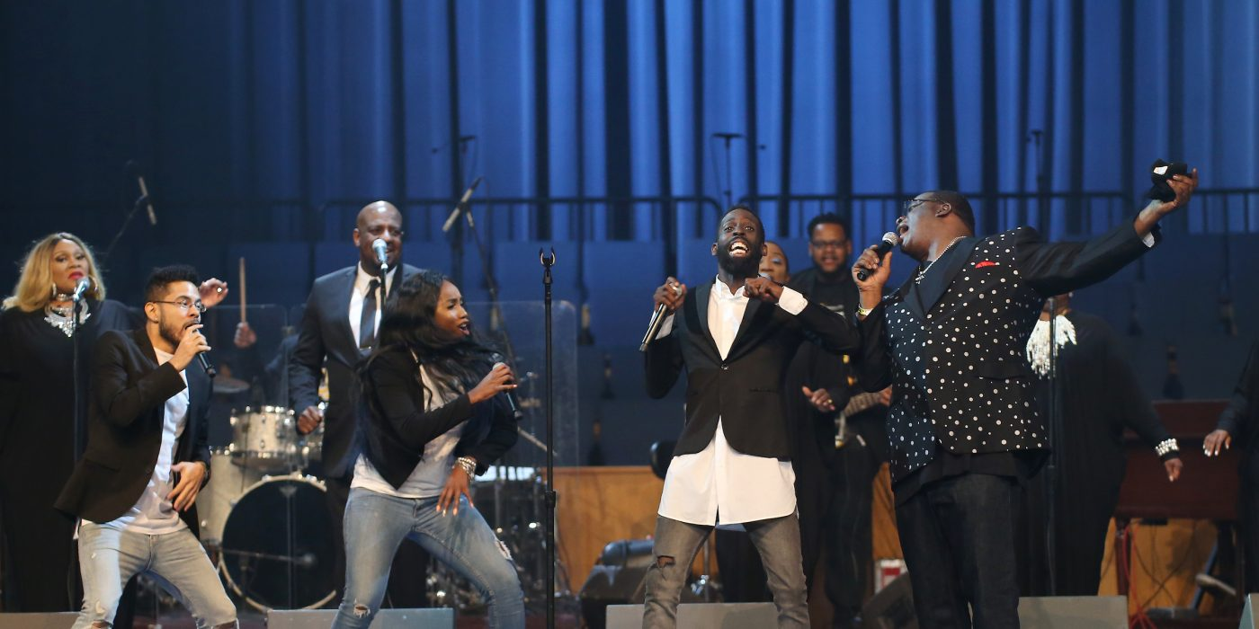 Stars perform at McDonald's IGCT tour in Detroit