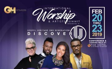 International Worship and Arts Conference linep