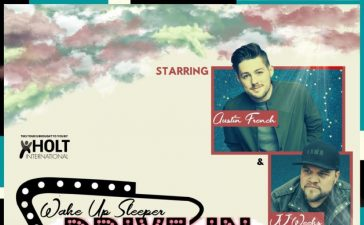 Justin French and JJ Weeks due drive-in concert