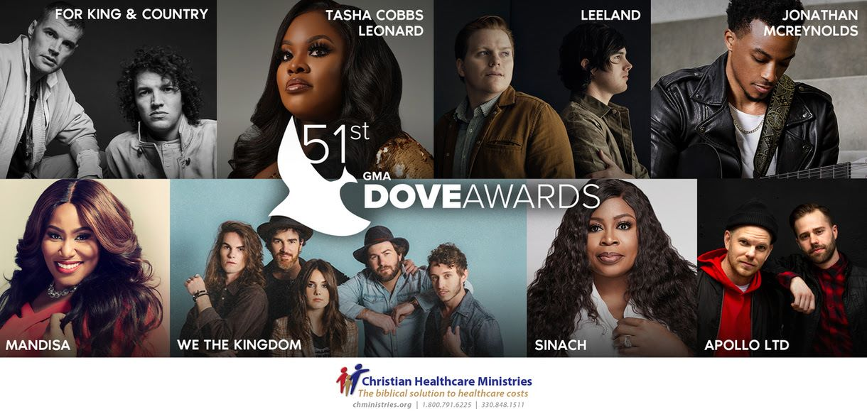 GMA Dove Award Performers announced